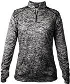 Badger Sport Ladies Blend 1/4 Zip Jackets