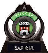 "Hasty Awards Eclipse 6"" Patriot Soccer Trophy"