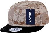 Decky Digital Camo 6-panel Snapback Caps