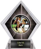 P.R. Male Basketball Black Diamond Ice Trophy
