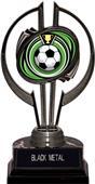"""Awards Black Hurricane 7"""" Eclipse Soccer Trophy"""