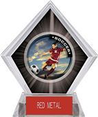Awards P.R. Female Soccer Black Diamond Ice Trophy