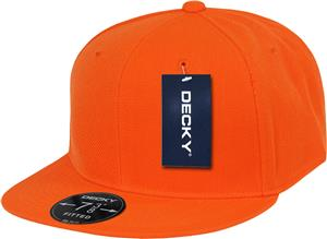 e33ab4e53ea Decky Retro 6-panel Fitted Custom Baseball Caps - Soccer Equipment and Gear