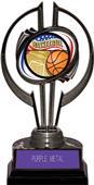"""Black Hurricane 7"""" Americana Basketball Trophy"""