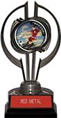 """Awards Black Hurricane 7"""" PR Female Soccer Trophy"""