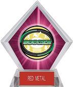 Awards Classic Soccer Pink Diamond Ice Trophy
