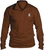 Louisville Adult Compression-Fit LS 1/4 Zip Shirt
