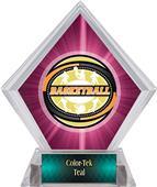 Award Classic Basketball Pink Diamond Ice Trophy