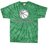 Tandem Basketball Live It Tie Dye T-Shirt 4 Colors