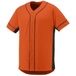 san francisco 3e765 37f13 Orange Full Button Baseball Jerseys   Epic Sports