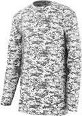 Augusta Digi Camo Wicking Long Sleeve T-Shirts