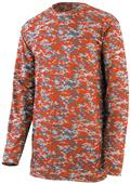 Augusta Digi Camo Wicking Long Sleeve T-Shirts