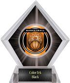 "2"" Legacy Basketball Black Diamond Ice Trophy"