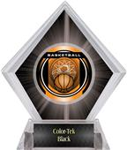 "2"" Legacy Basketball Black Diamond Ice Trophy"