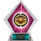Awards Saturn Basketball Pink Diamond Ice Trophy