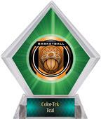 Awards Legacy Basketball Green Diamond Ice Trophy
