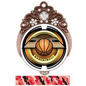 "Hasty Awards Tiara 3"" Basketball Saturn Medals"