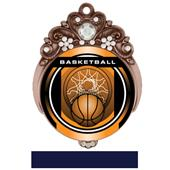 "Hasty Awards Tiara 3"" Basketball Legacy Medals"