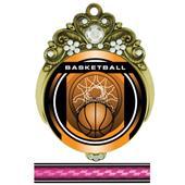 "Hasty Awards Tiara 3"" Basketball Legacy Medals"