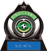 "Hasty Awards Eclipse 6"" Saturn Soccer Trophy"