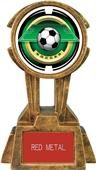 "Hasty Awards 10"" Sky Tower Resin Soccer Trophy"