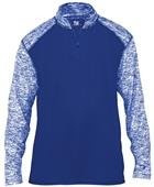 Badger Sport Adult Sport Blend 1/4 Zip Shirt