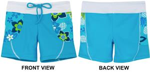 bc83d1b95e4 Tuga Swimwear Girls Tropical Punch Swim Shorts - Swimming Equipment and Gear