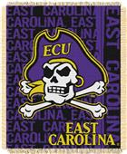Northwest East Carolina Double Play Jaquard Throw