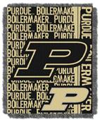 Northwest Purdue Double Play Jaquard Throw