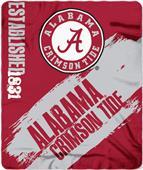 Northwest Alabama Painted Fleece Throw