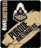 Northwest Purdue Painted Fleece Throw
