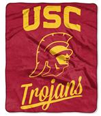 Northwest USC Painted Fleece Throw