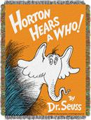 Northwest Horton Hears a Who Woven Tapestry Throw