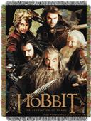 Northwest The Hobbit Woven Tapestry Throw