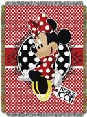 Northwest Forever Minnie Woven Tapestry Throw