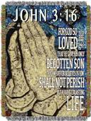 Northwest John 3:16 Woven Tapestry Throw