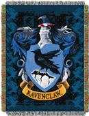 Northwest Ravenclaw Crest Woven Tapestry Throw