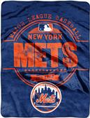 Northwest MLB Mets Structure Raschel Throw