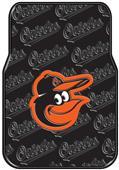 Northwest MLB Orioles Car Floor Mat Set