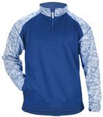 Badger Sport Adult Blend Sport 1/4 Zip Jacket