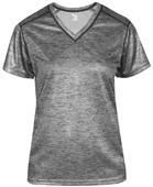 Badger Sport Ladies Tonal Blend Ladies V-Neck Tee