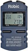 Robic Timers SC-606W 50 Memory Chronograph