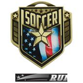 "Hasty Awards 2.25"" Liberty Soccer Medals M-742"