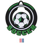 """Hasty Awards 2.75"""" Epic Soccer Medals M-732"""