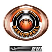 Hasty Award Halo Basketball Epic Insert Medal