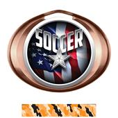 Hasty Award Halo Soccer Liberty Insert Medal