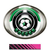 Hasty Halo Medal Epic Soccer Insert M-3301S