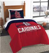 Northwest MLB Cardinals Twin Comforter & Sham