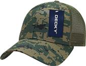 Decky Structured Camo Trucker Cap