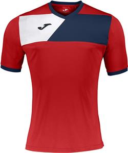 9bafbecbf Joma T-Shirt Crew II Short Sleeve Custom Soccer Jersey - Soccer Equipment  and Gear